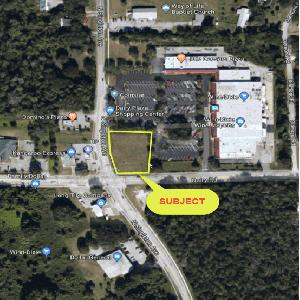 Cornerstone Commercial Associates Commercial Real Estate - Central Florida Commercial Real Estate - Win-Dixie Anchored Pad Site, Titusville